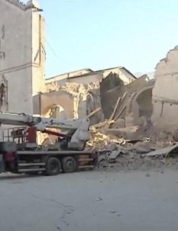 Imagen de archivo del terremoto en 2016.