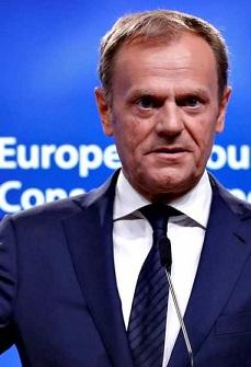 Donald Tusk, presidnete del Consejo Europeo.