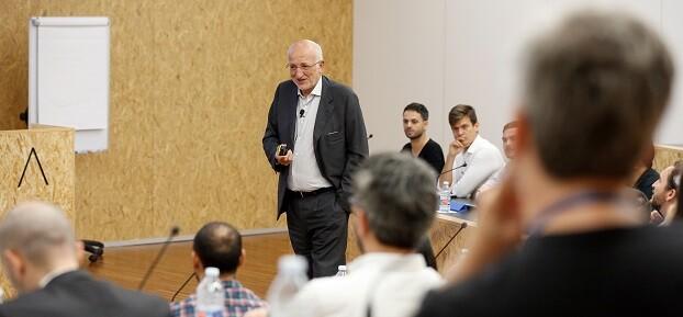 El empresario Juan Roig en una sesión con los emprendedores