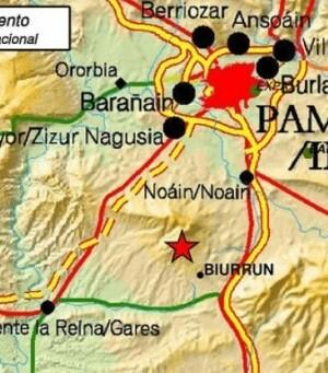 El sismo se ha registrado a las 7.43 horas de este viernes.