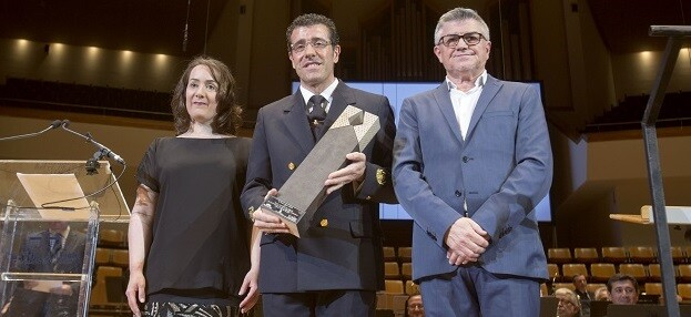Distinción a la Banda Municipal de València. (Foto-Eva Ripoll).