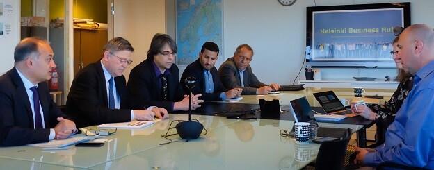 El President ha destacado la importancia de la 'locomotora pública' finlandesa para lograr la consolidación de este sistema productivo