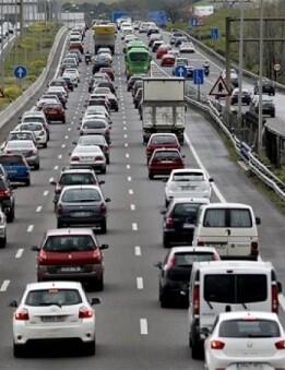 Operación salida de vehículos.