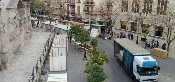Mercado de Navidad.
