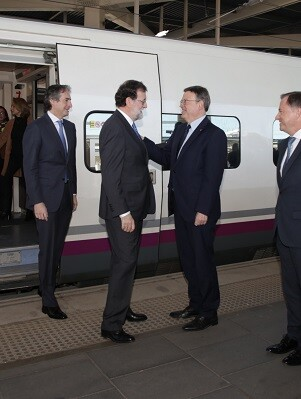 Puig y Rajoy.