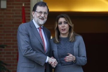 Rajoy recibe a Susana Diaz 180418rajoy_andalucia02