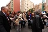 FIESTA DE SAN ANTONIO, LA BENDICION DE ANIMALES, CALLE SAGUNTO
