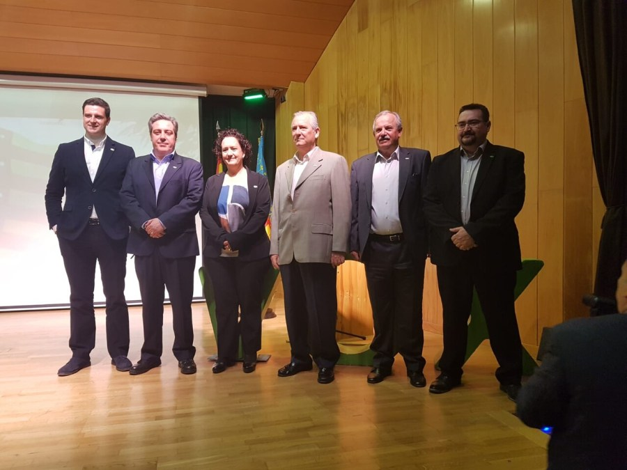 José María llanos VOX Presentación de los coordinadores locales de VOX en Villamarchante,Ribarroja,La Eliana y La Pobla de Vallbona.