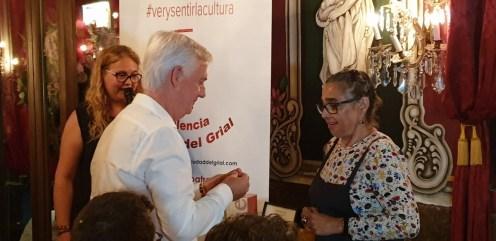 """La actriz María Isabel Díaz Lago recibe el reconocimiento artístico """"Valencia 2019, Ciudad del Grial"""". 20190820_232034 (482)"""