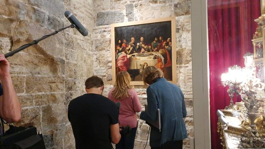 Una productora alemana graba en València del 24 al 26 de octubre un documental sobre el Santo Grial 20191024_103056 (3)