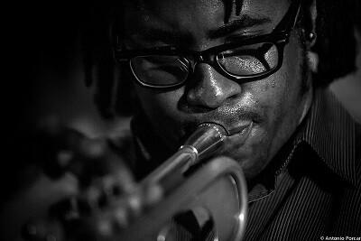 Jorge Vistel un trompetista de notable vanguardia. (Foto-Antonio Porcar)