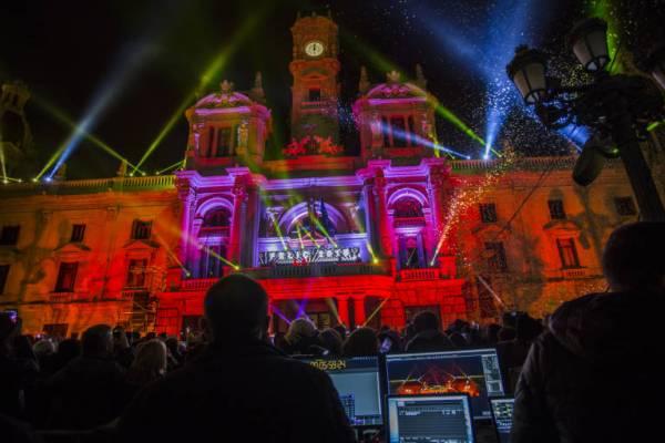 La nochevieja de 2015 en el Ayuntamiento de Valencia fue un auténtico éxito - Foto: Valencia Plaza