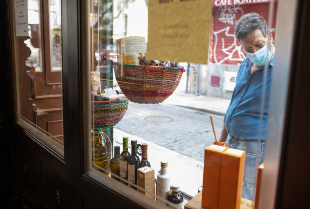escaparate tienda del mercado selección productos valencianos