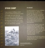 Information on stock camps