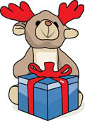 Reindeer with Gifts