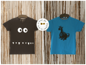 2014-07 t-shirt dragon et monstre