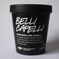 Lush - Belli Capelli, trattamento/ Jasmine and Henna Fluff Eaze, hair treatment (review)