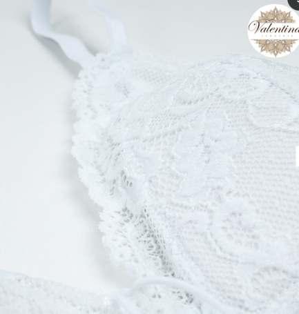 dentelle cheez blanche valentina lingerie