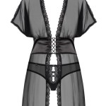 La Nuisette transparente corset