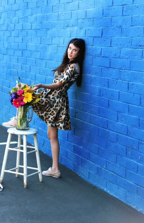 SF Fashion Blog, Art Meets Fashion, Frida Kahlo, Georgia O'Keeffe, Fashion Photography, San Francisco Fashion blog, Milk and Honey, Rupi Kaur, Michael Kors shoes, H&M Off-the-shoulder Dress, Fashion Editorial, Forever 21 mustard yellow dress, Summer Looks, Art Photography