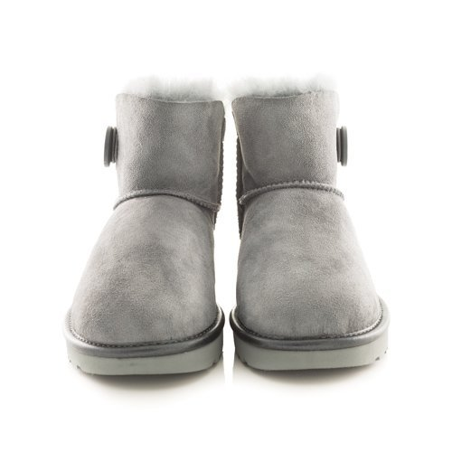 Stivaletto Ugg Mini Bailey button grigio