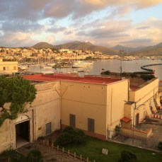 Gaeta's port from our Hotel Gajeta.day