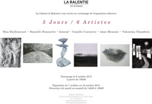 Exposition 6 Jours, 6 Artistes