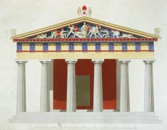 Aegina, reconstruction
