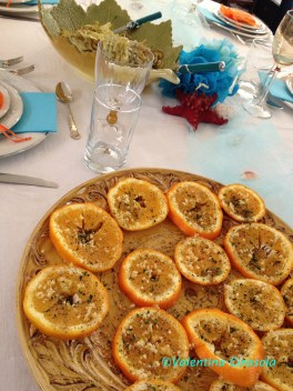 Orange Appetizer