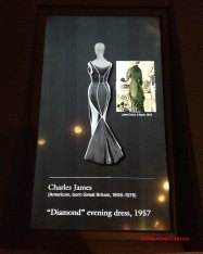 Charles James Diamond Dress