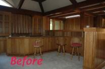 Living Room Bar Before