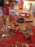 Caviar and prosecco