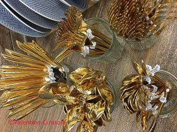 Golden Tableware