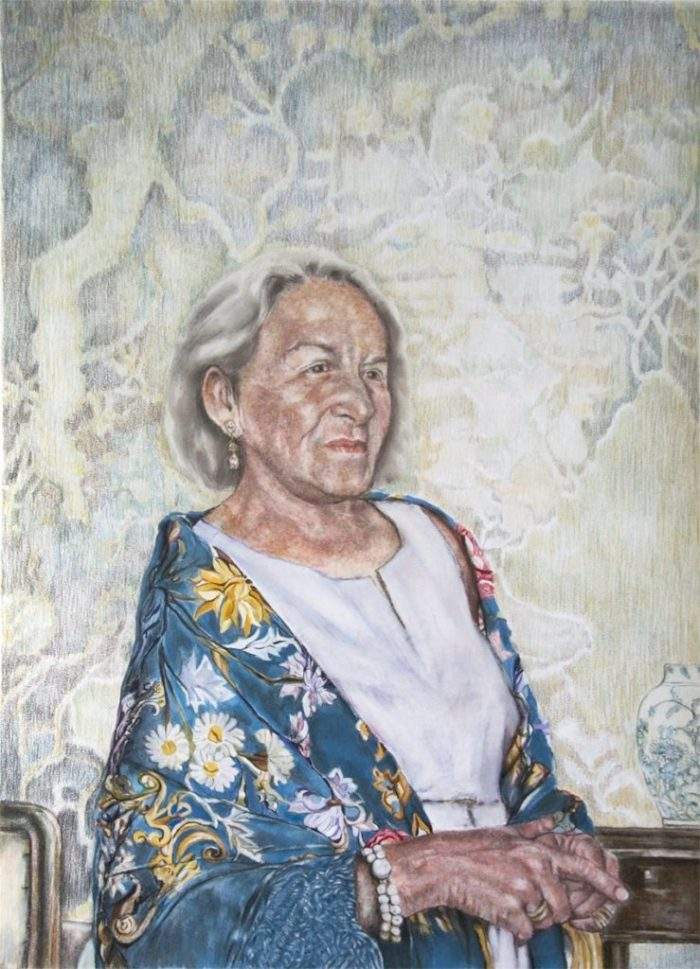 Portrait of Frau Jentzsch