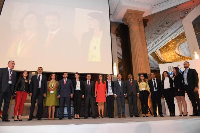 Valentina Kordi at Beirut Life Insurance Summit in Lebanon