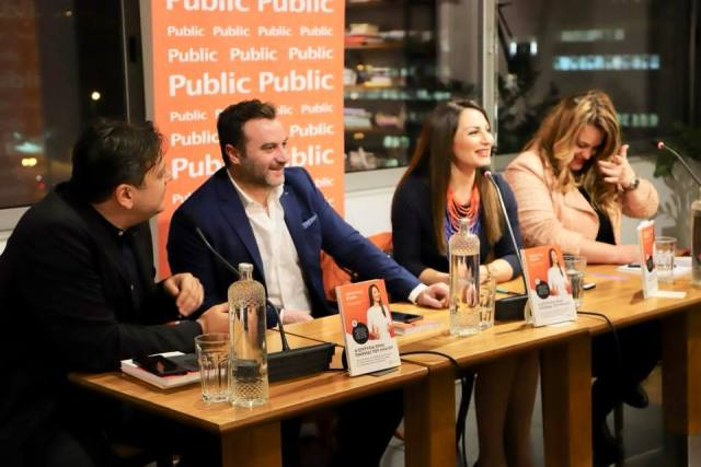 Success Is A Mind Game book presentation at Public bookstore in Syntagma