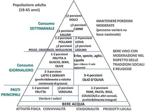 piramide alimentare moderna