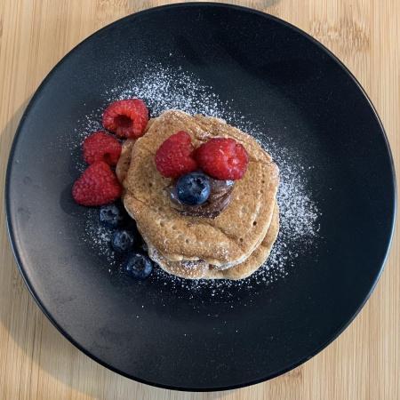 Pancake con farina di farro
