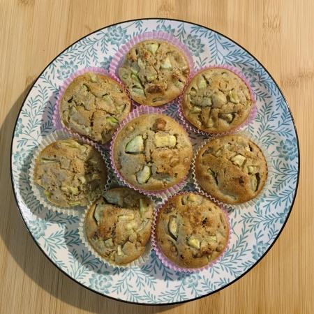 Muffin zucchine e noci 2