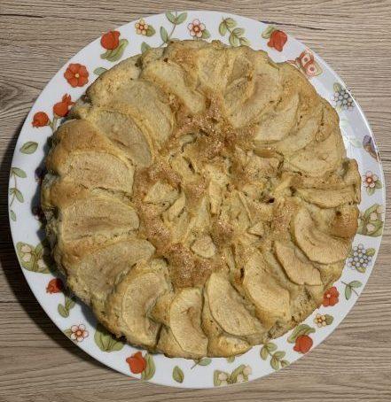 Torta di mele con farina di farro 2 bionutriform