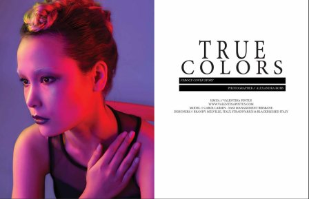 True Colors Editorial for Feroce magazine July 2015