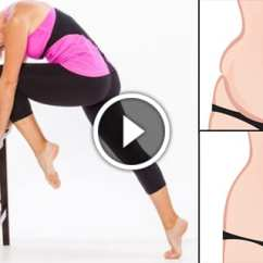 Office Chair Exercises For Abs Most Expensive Massage In The World Do These Anywhere To Reduce Belly Fat Fast