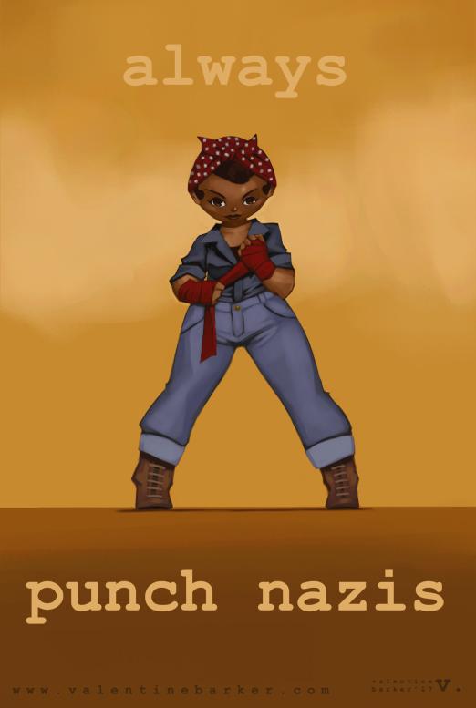 Always Punch Nazis