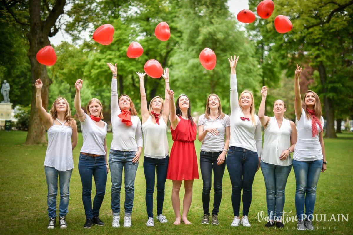 Shooting EVJF ballons , Valentine Poulain
