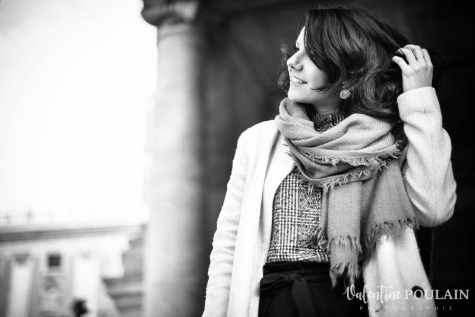 Shooting portrait Silvene Rome Créatrice cheveux