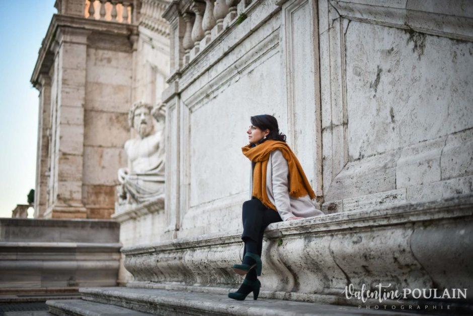 Shooting portrait Silvene Rome Créatrice profil