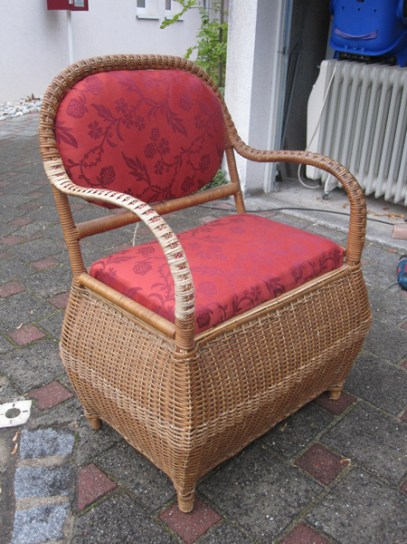 Chaise en cannage