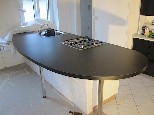 pose d un plan de travail fabulous rnovation duun plan de travail pose de bton rsinence. Black Bedroom Furniture Sets. Home Design Ideas