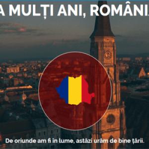 Spune și tu La Mulți Ani, România!