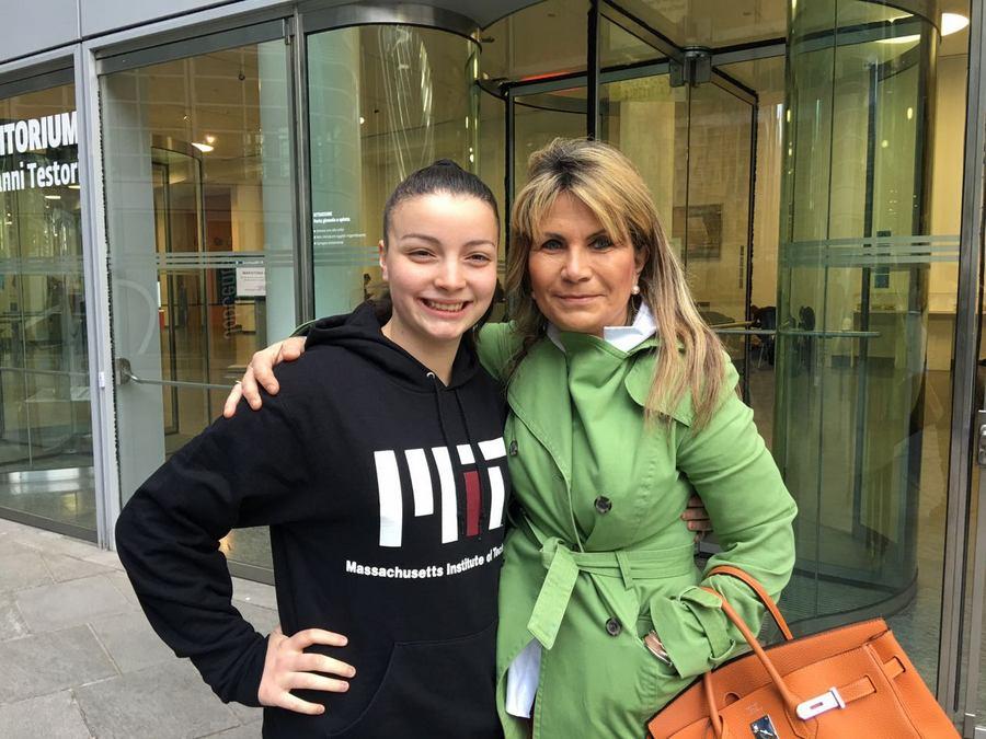 Valeria Cagnina speaker alla maratona digitale con Layla Pavone